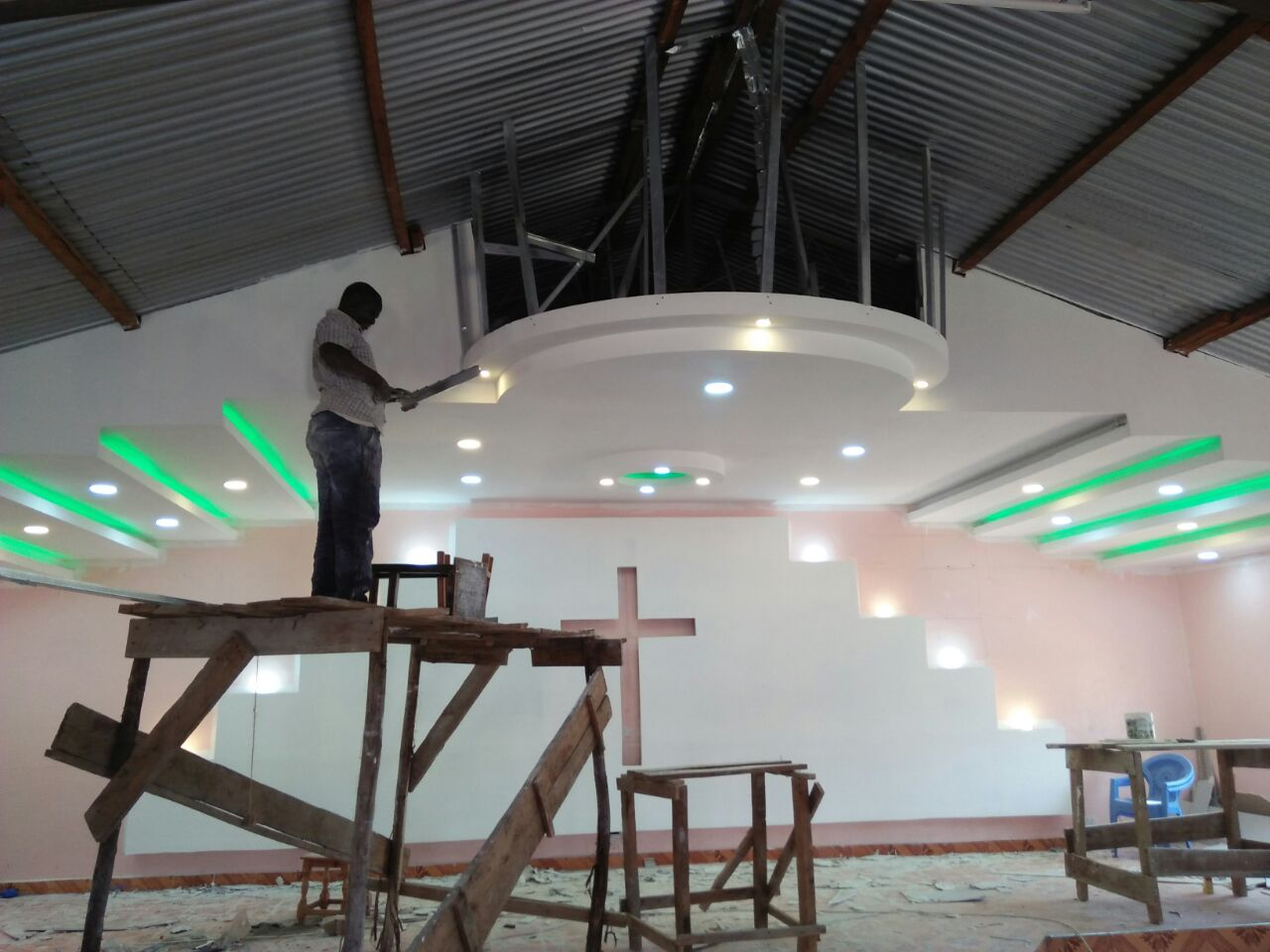 Kag Thika Church Gypsum Design Hpd Construction