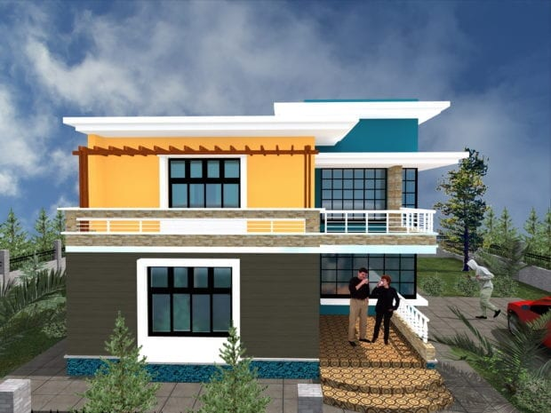 Maisonette House Designs in Kenya | HPD Consult