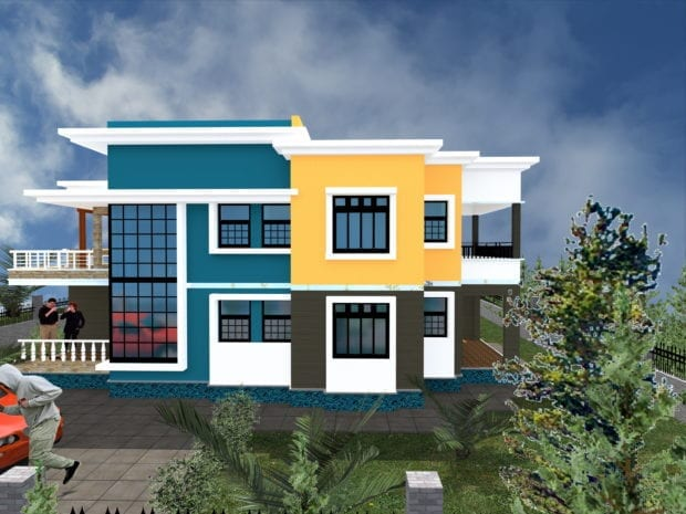 Maisonette House Designs in Kenya