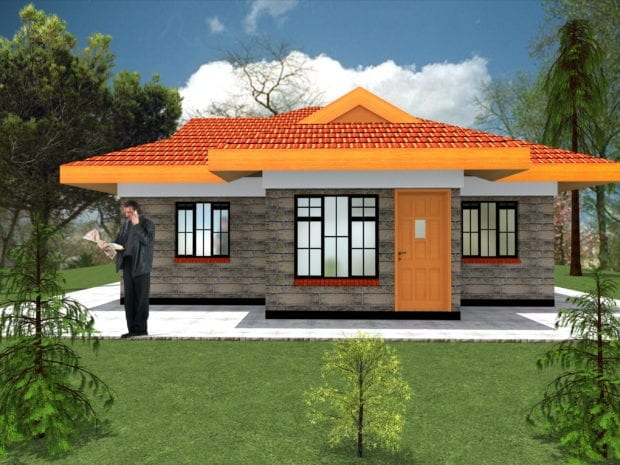 2 bedroom house plans design