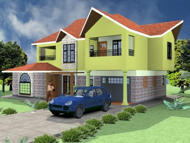 5 Bedroom Professional House Plans | HPD Consult