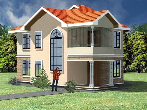 maisonette house plans in kenya