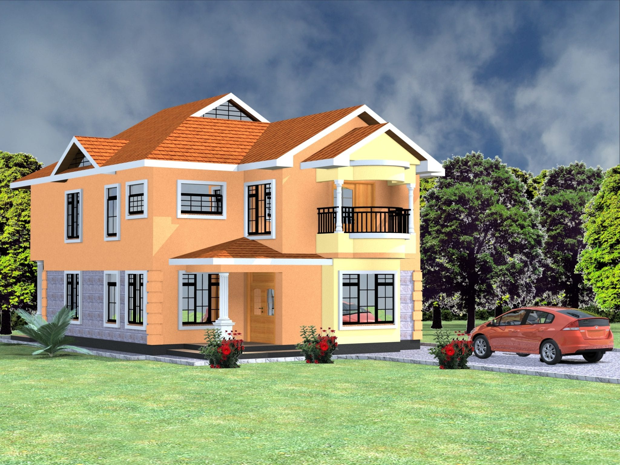 Cost of building a 4 bedroom maisonette in kenya hpd consult