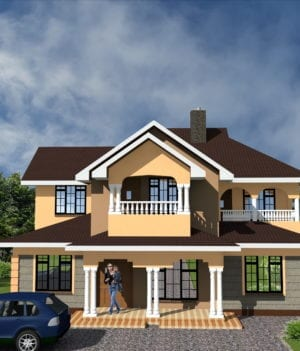 4 Bedroom Maisonette Designs