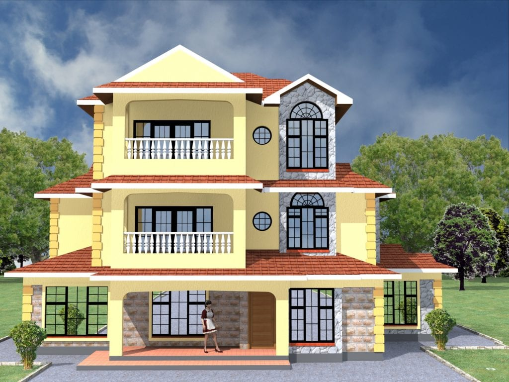4 Bedroom Maisonette House Designs in Kenya [Check Details ...