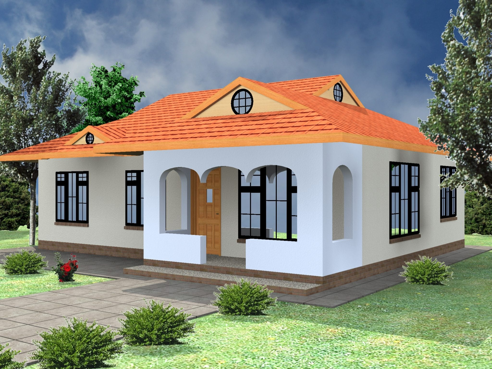 Best Kenyan Bungalow Roof Designs – Modern House
