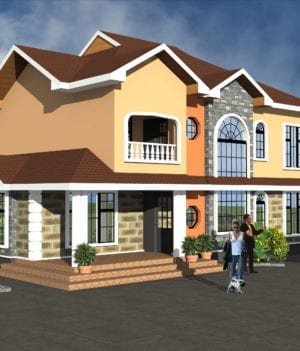 maisonette house plan design