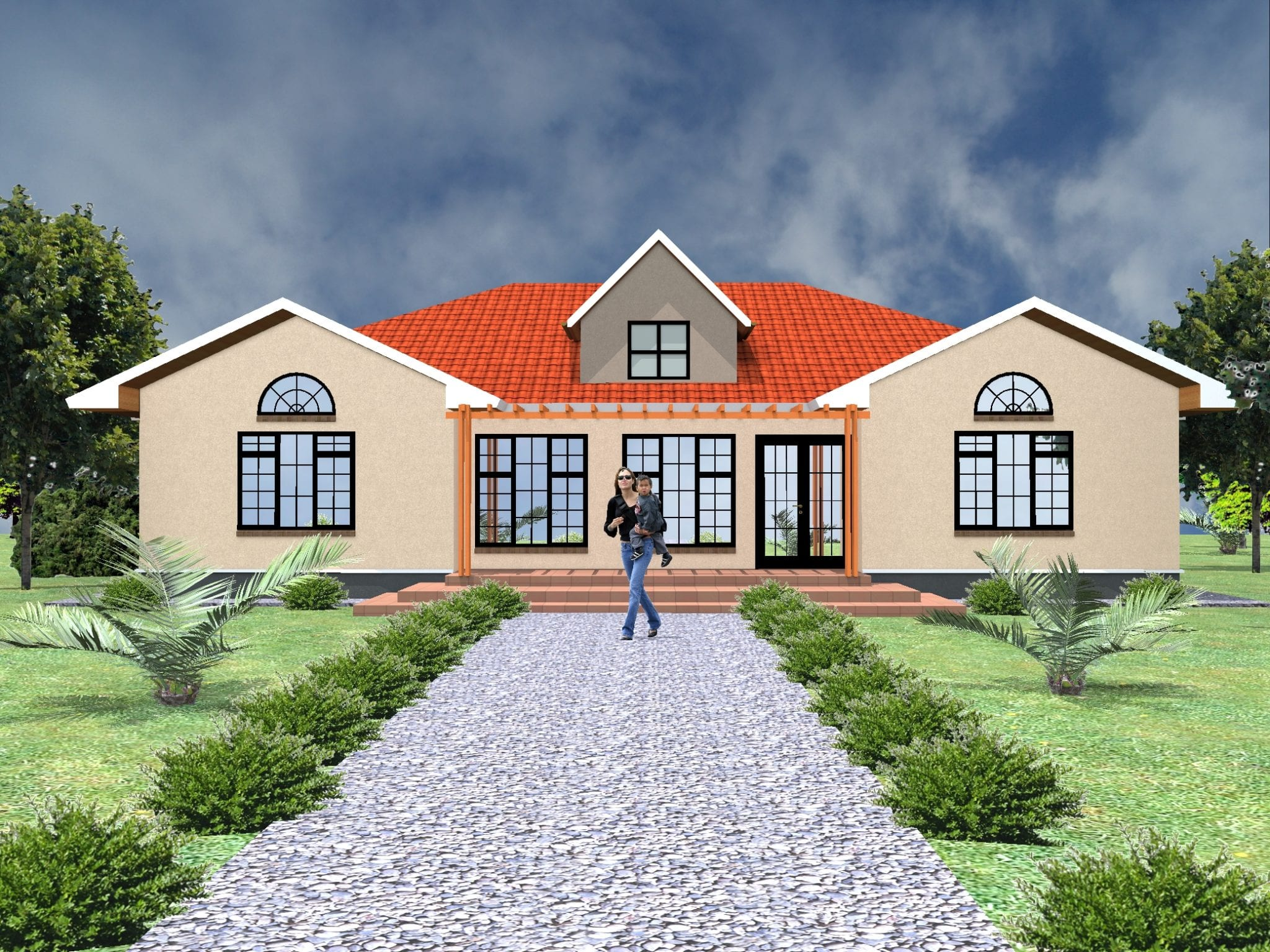 5 Bedroom House Designs House Plans And Designs