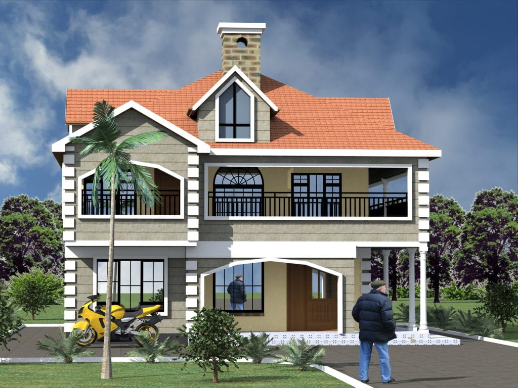 Maisonette House Designs In Kenya Hpd Consult