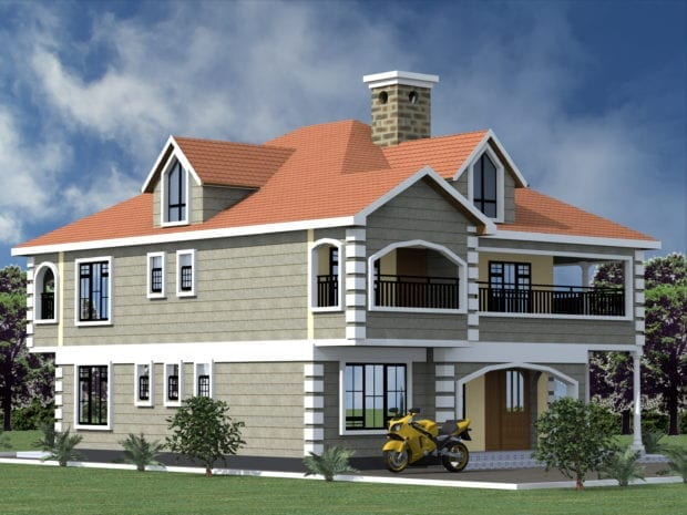4 Bedroom Design 1057A 1