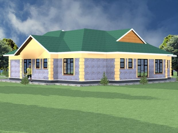 Simple 3 bedroom house designs