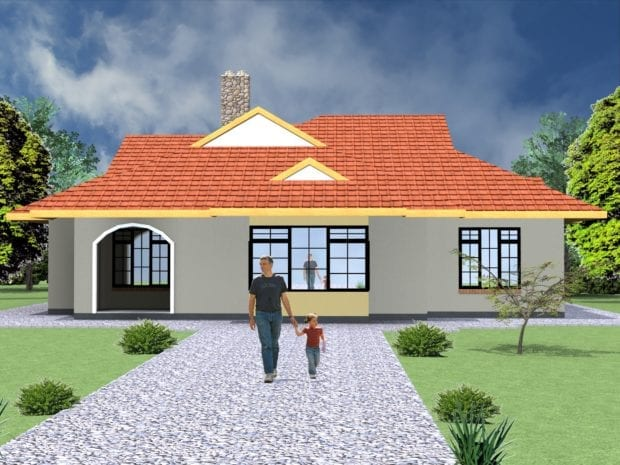 house plan with dimensions