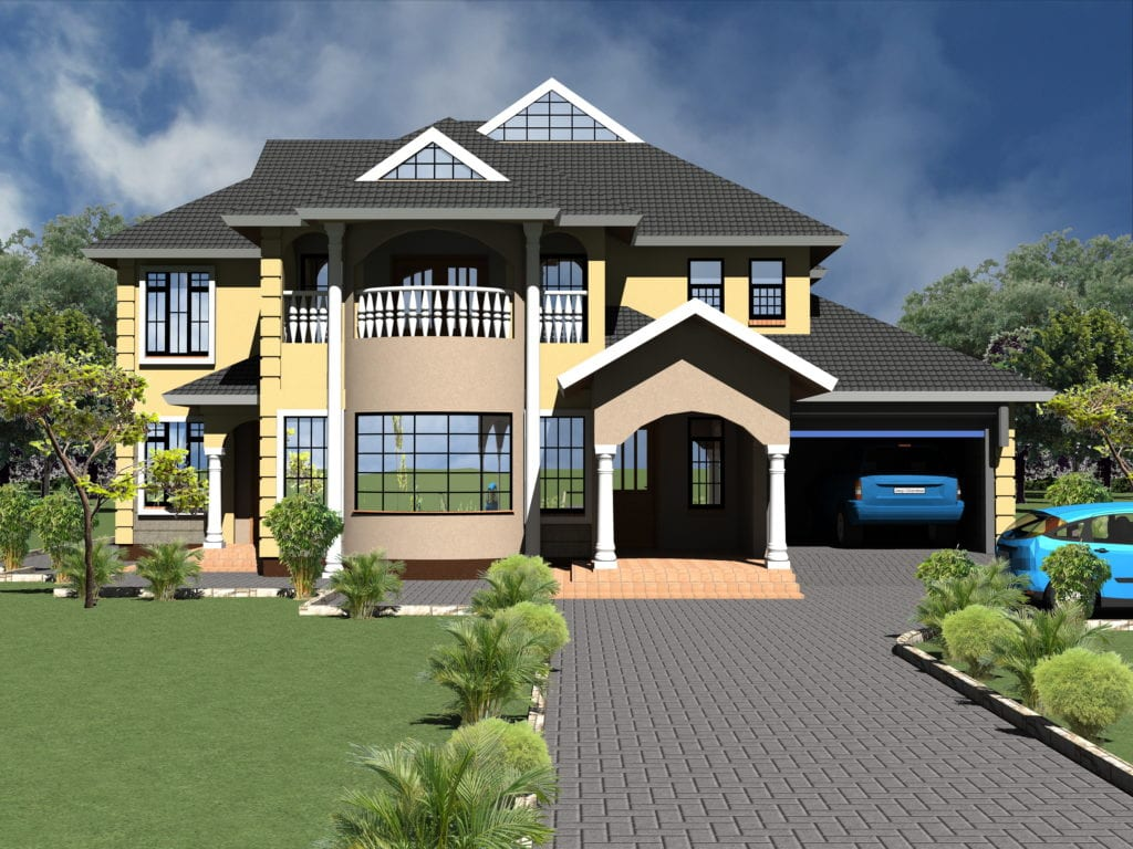 Four Bedroom Storey House Plans Hpd Consult