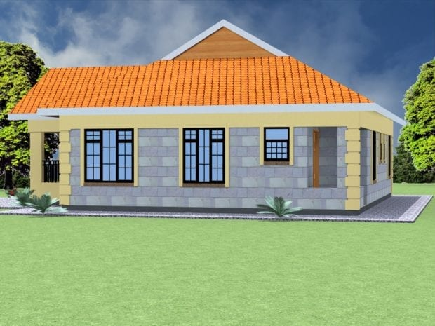 3 bedroom house design
