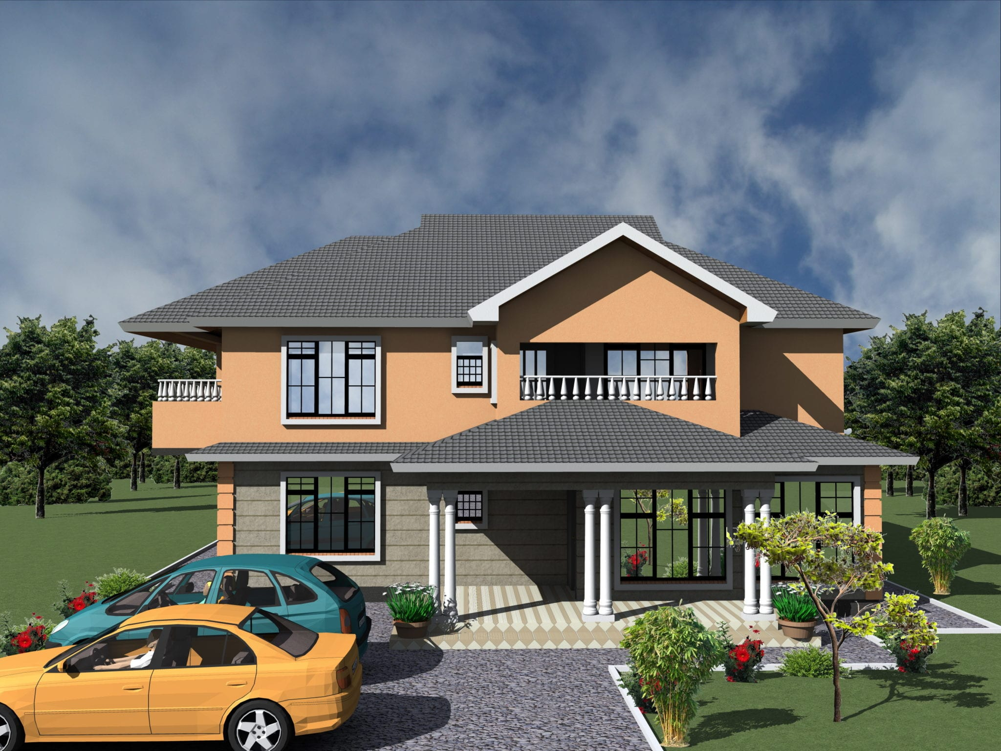 4 bedroom design 1083 a