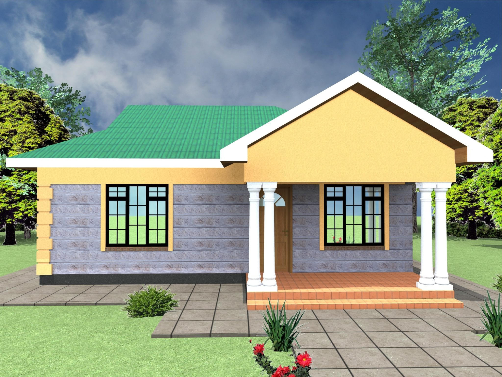 Beautiful bungalow designs in kenya | HPD Consult