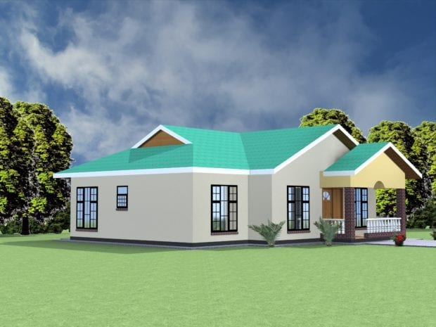 spacious bungalow designs