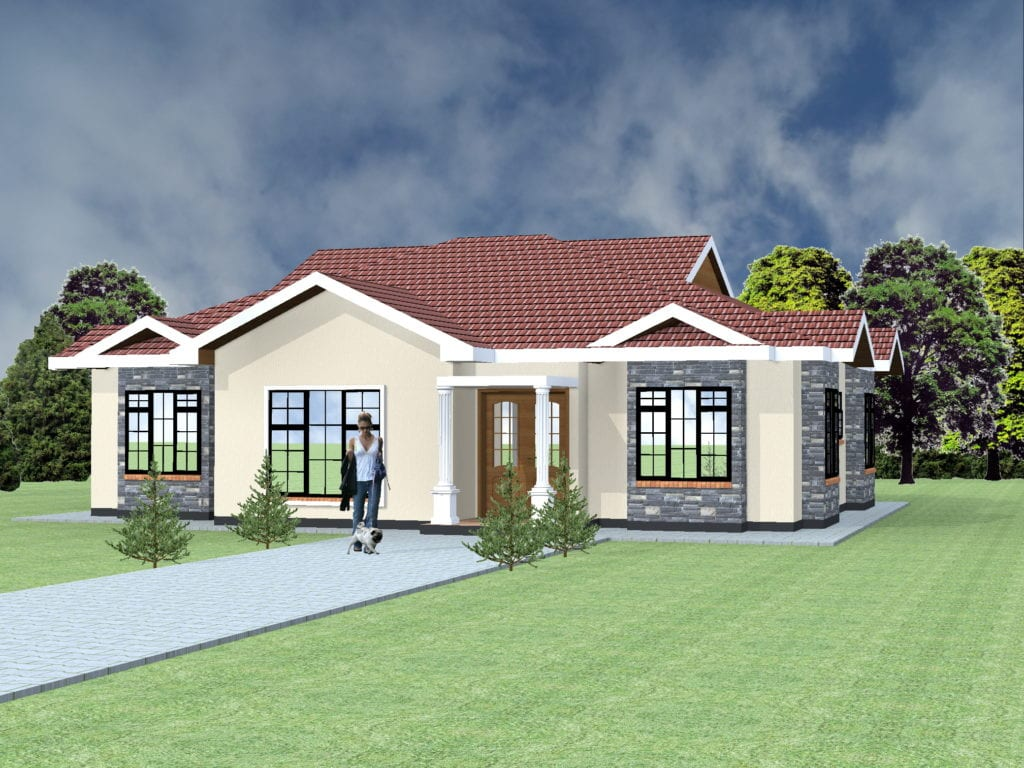 4 Bedroom house plans and designs in Kenya |HPD consult
