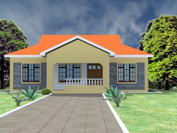 modern 3 bedroom house design