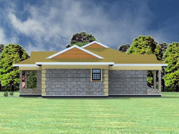 Design of a two bedroom house