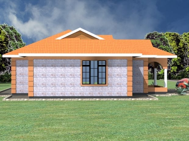 Simple 3 bedroom house plans in kenya