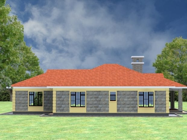 modern single storey house designs