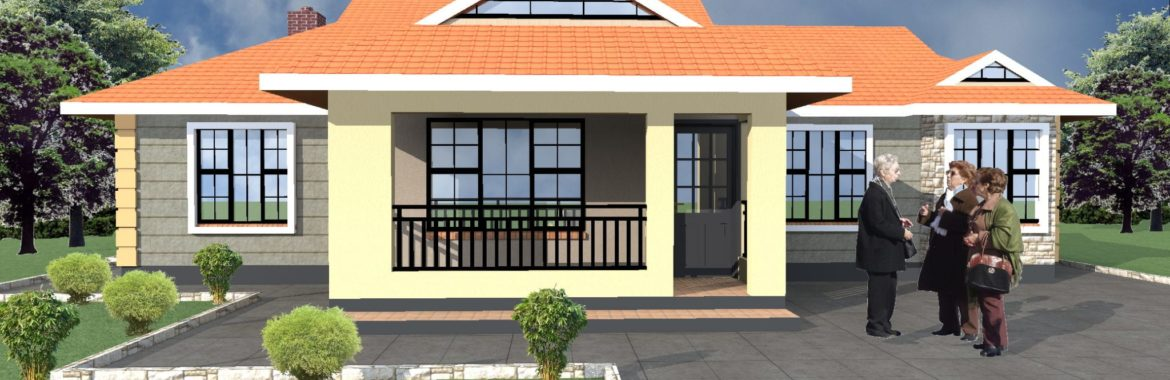 3 Bedroom Design 1153 B