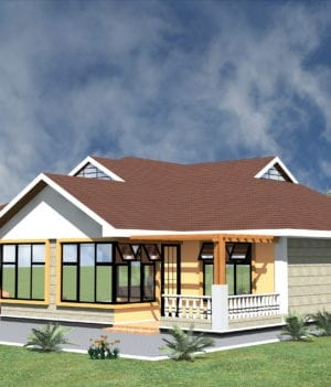 3 Bedroom Design 1215 B 1