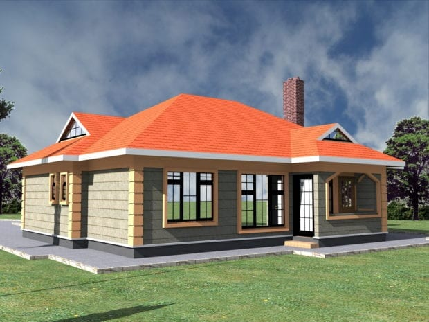 3 Bedroom house designs with view pictures