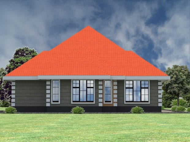 4 Bedroom house plan in Kenya