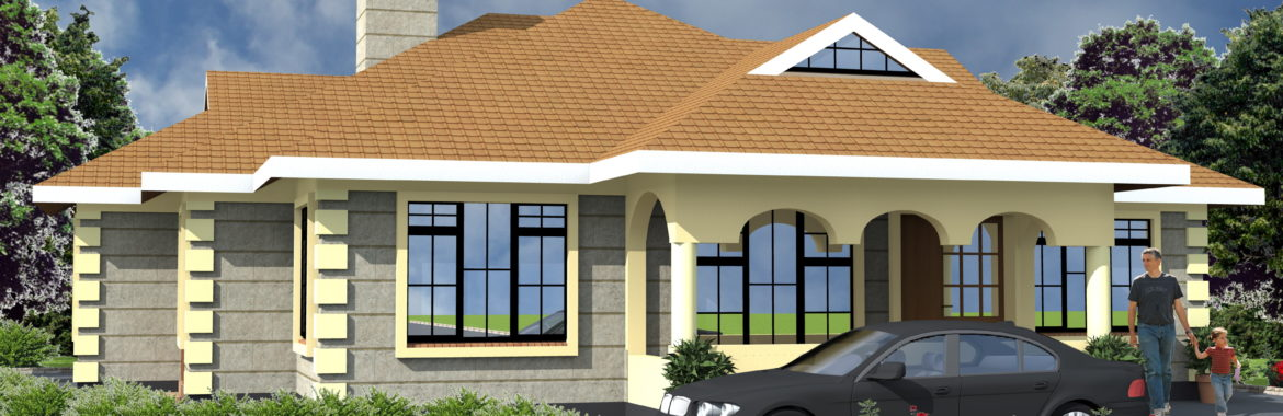 4 Bedroom Design 1173 B