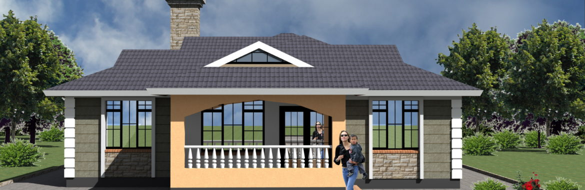 3 Bedroom Design 1183B