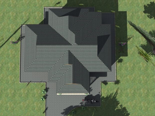 Two bedroom plan house