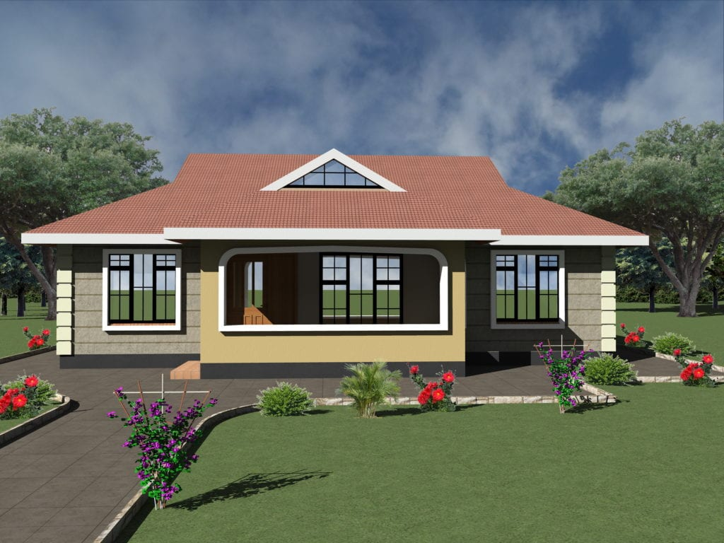 Beautiful bungalow designs in kenya hpd consult - What is a bungalow ...