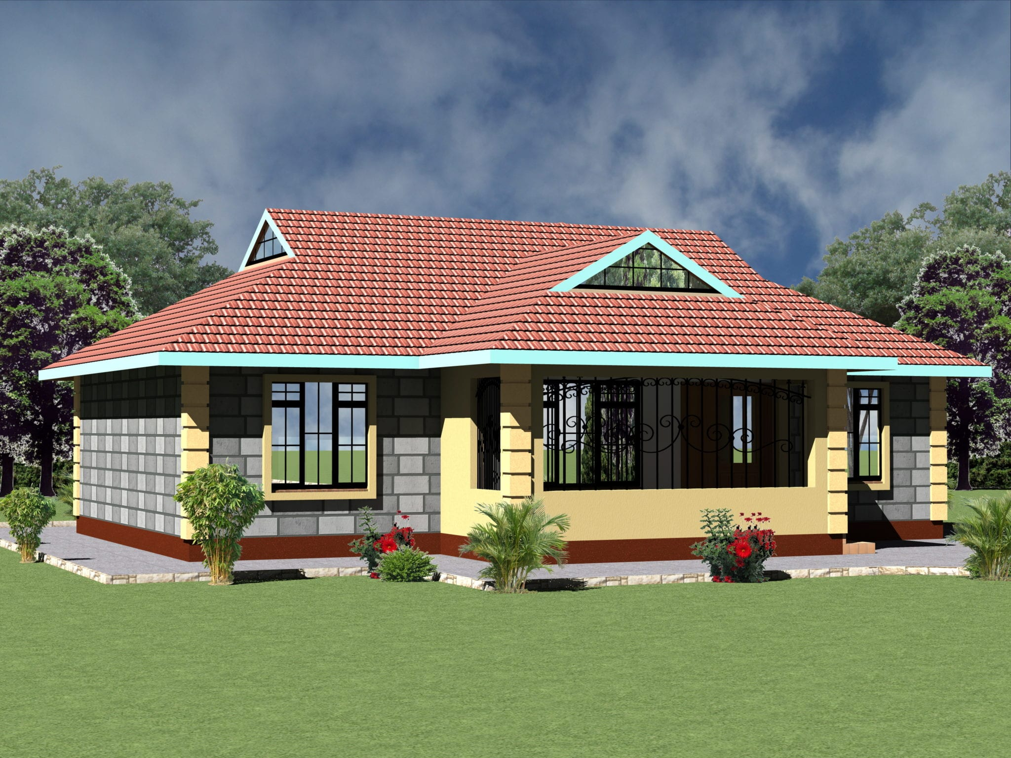 Four Bedroom House Plans In Kenya Mangaziez
