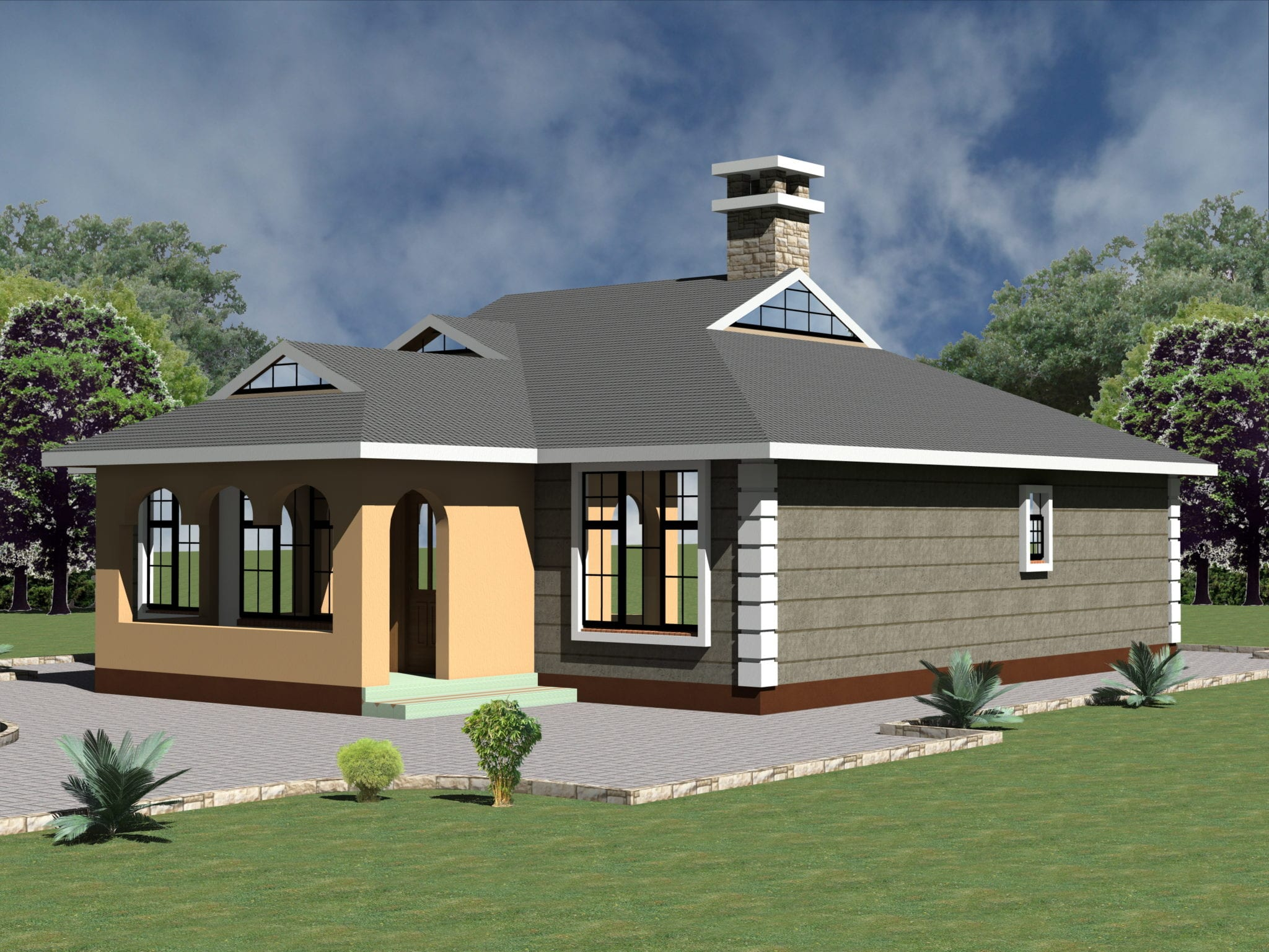 Beautiful 4Bedroom House Designs Kenya |HPD Consult