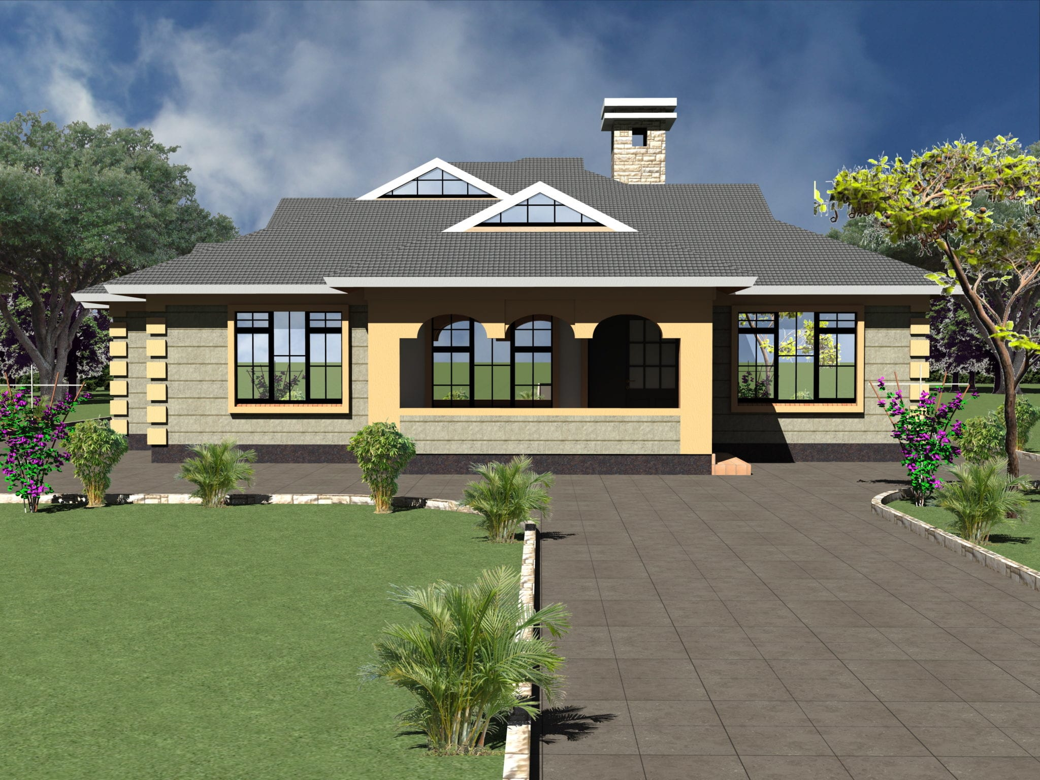 4 Bedroom House Designs In Kenya House Decor Interior