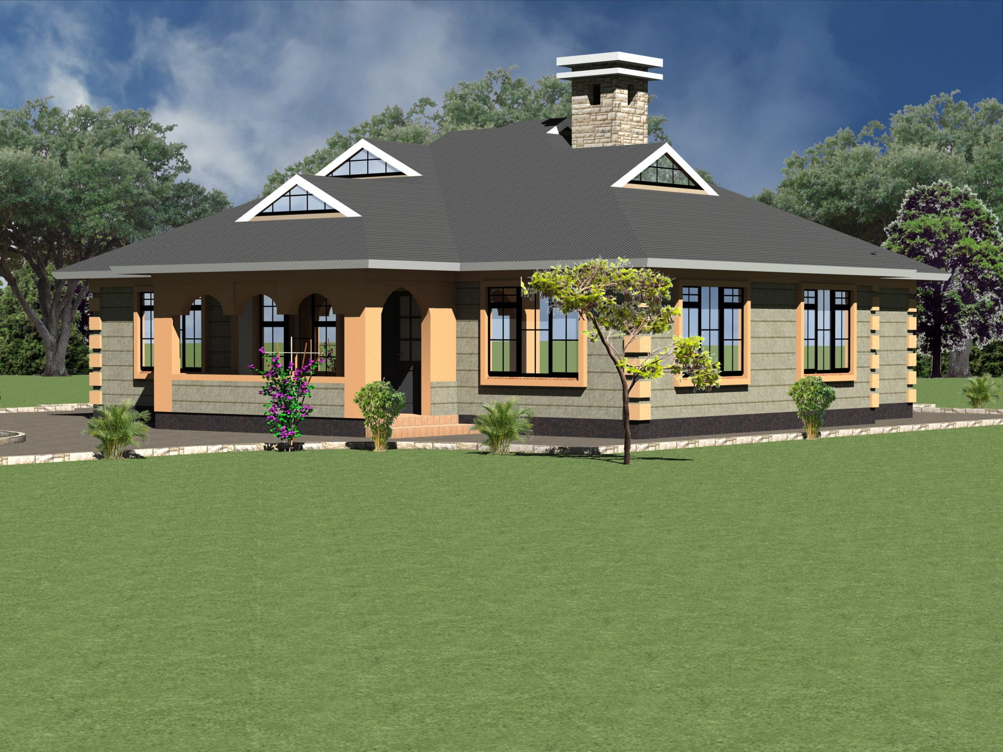 15 House Plan For 4 Bedroom Bungalow