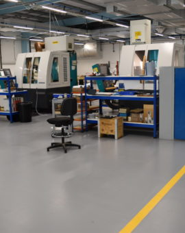 Factory Epoxy Flooring Solutions
