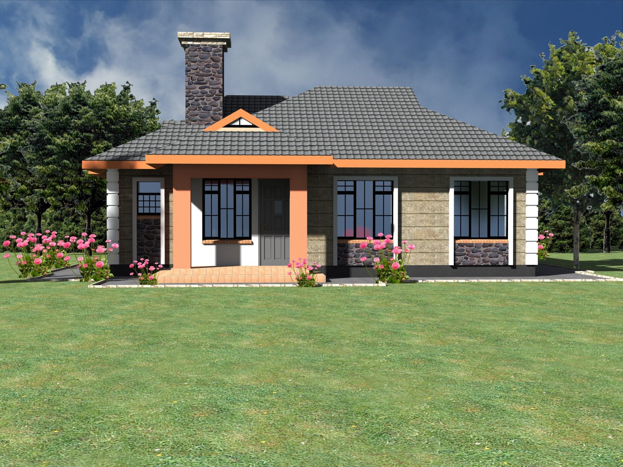 Neatly designed simple 3 bedroom bungalow house.. | HPD Consult on rome house plan, cape town house plan, tokyo house plan, lahore house plan, kenya house plan, victoria house plan, madrid house plan, san francisco house plan, houston house plan, barcelona house plan, new york house plan, nassau house plan, shiraz house plan, bamako house plan, tanzania house plan, philadelphia house plan, durban house plan, swahili house plan, toronto house plan,