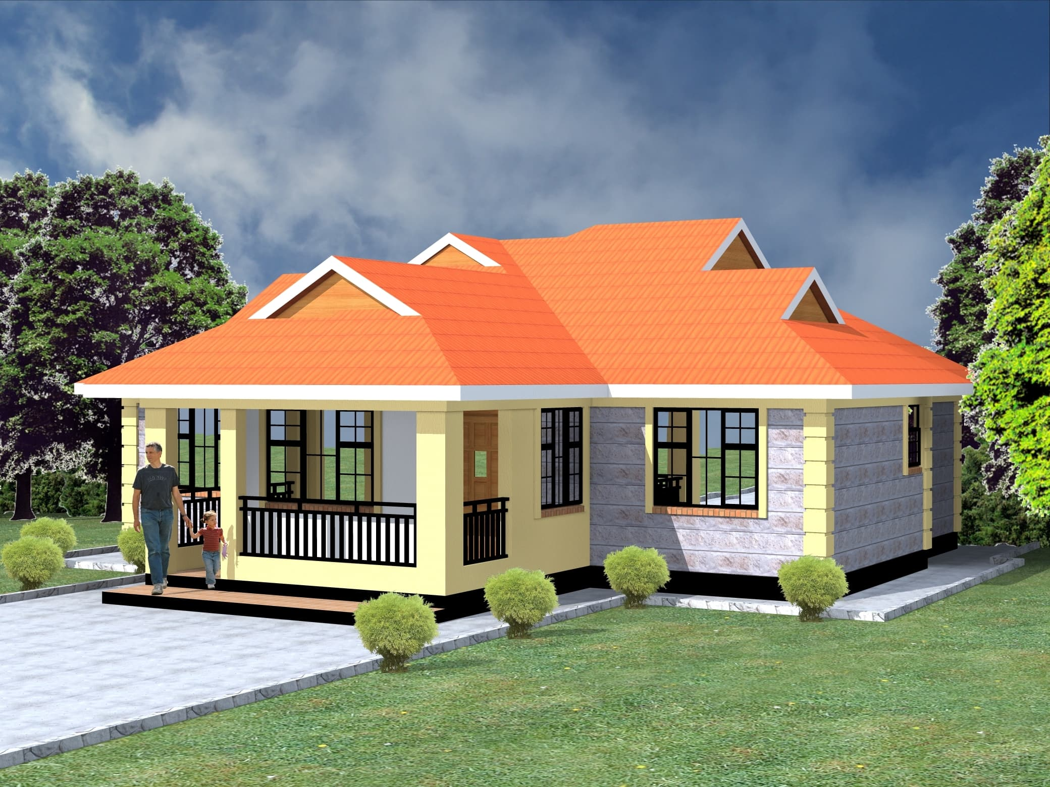 3 Bedroom bungalow house Check Details here | HPD Consult