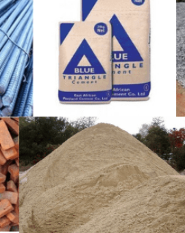 Construction materials and their current market prices