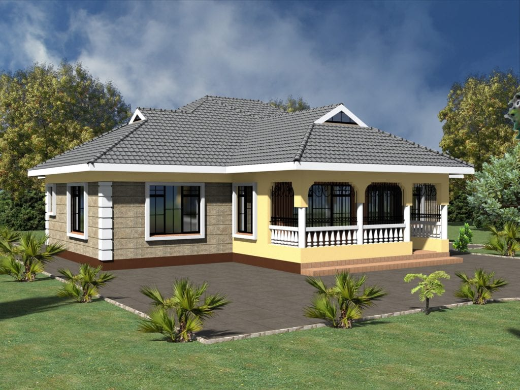 Simple 3 Bedroom House Plans Without Garage