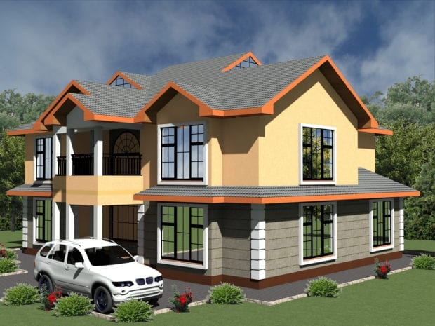 5 Bedroom House Design 1079 A 1