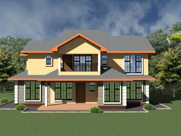 5 Bedroom House Design 1079 A 3