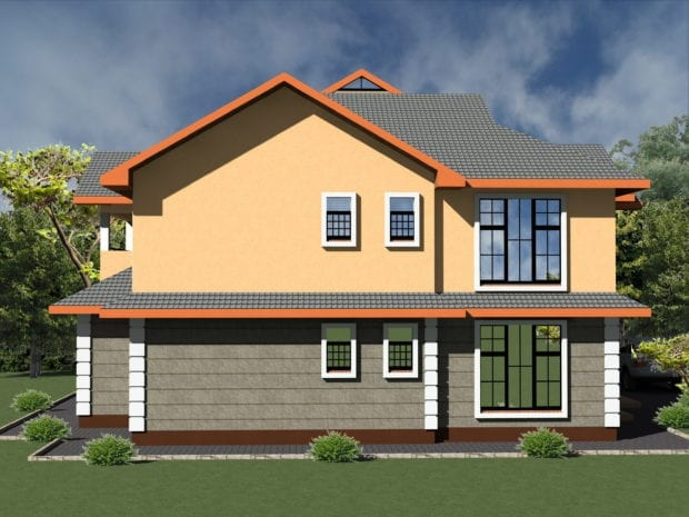 5 Bedroom House Design 1079 A 4