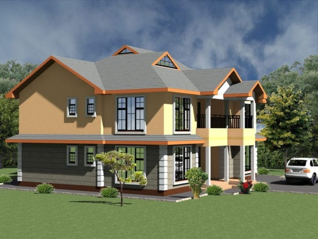 5 Bedroom House Design 1079 A 5