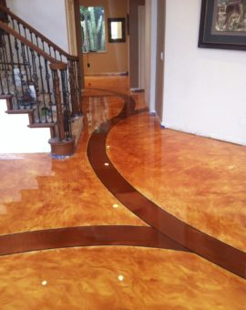 Metallic Epoxy Floor. Epoxy Flooring for Homes
