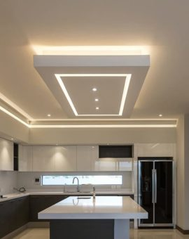 Modern ceiling designs for kitchens