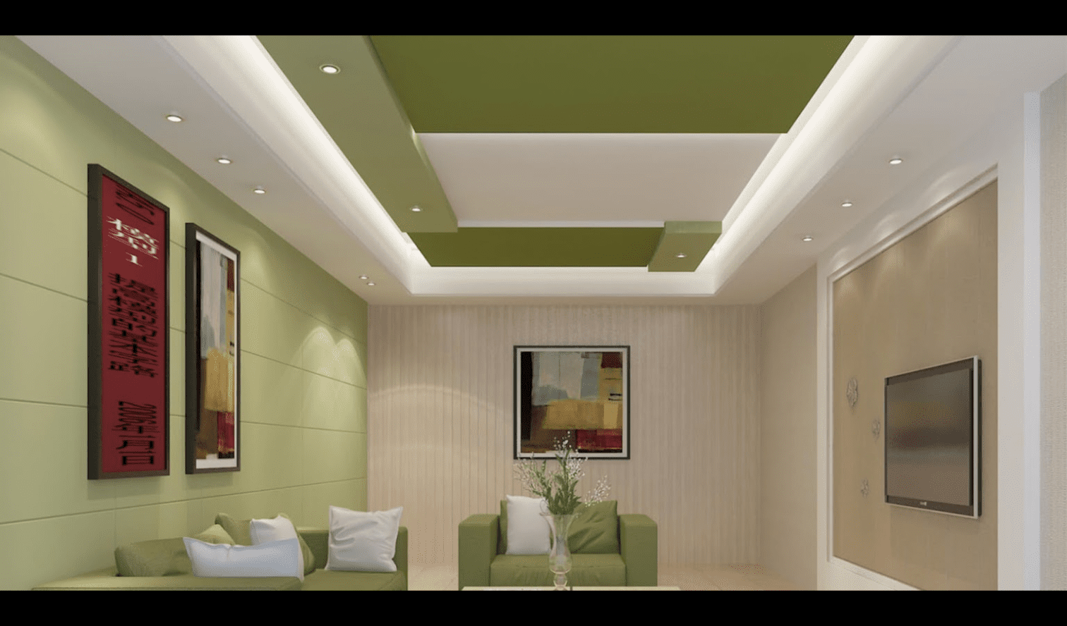 30 BEST Modern Gypsum Ceiling Designs for Living room ...
